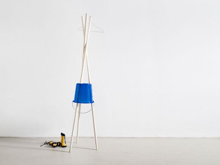 Do it yourself coatrack by Sebastian Bergne  #coatrack #DIY