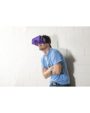 Merge VR - Virtual Reality Headset for iPhone and Android - Best new gadgets for men - The Merge VR Goggles turn your iOS or Android smartphone into an immersive virtual reality headset. Amazingly comfortable and made of soft, lightweight foam that fits any face perfectly. So It's the best new gadgets for men! - $75.00