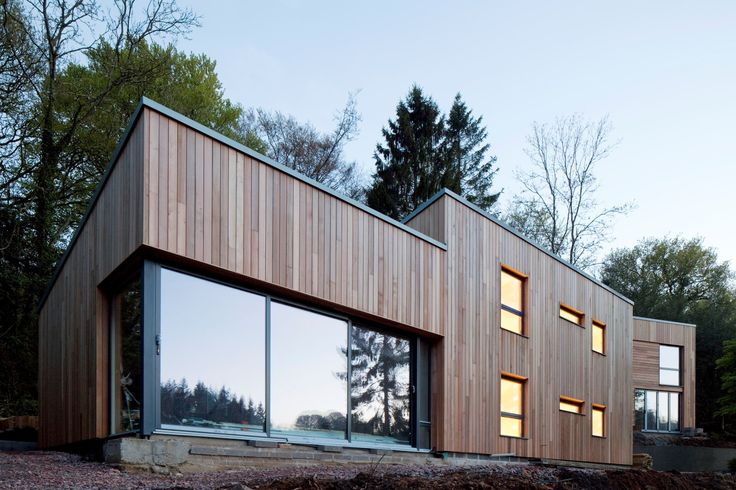 Fir View, Lyme Regis, Devon  CDMS Partners Canadian Western Red Cedar / Scandanavian Softwood / Birch Faced Plywood / English Oak