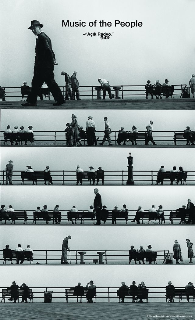 Truly beautiful work from Havas Worldwide #Istanbul. Ad for Açik Radio