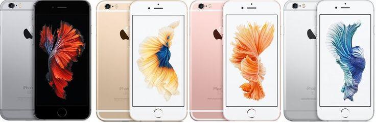 Apple iPhone 6s 64GB 4G Spacegrau/Silber/Gold/Roségold