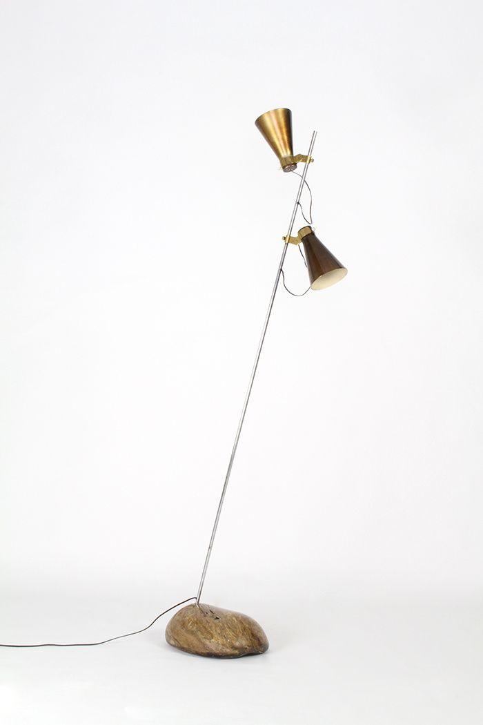 Lampe Sasso (1948), Luigi Caccia Dominioni (Casati Gallery) © Casati Gallery