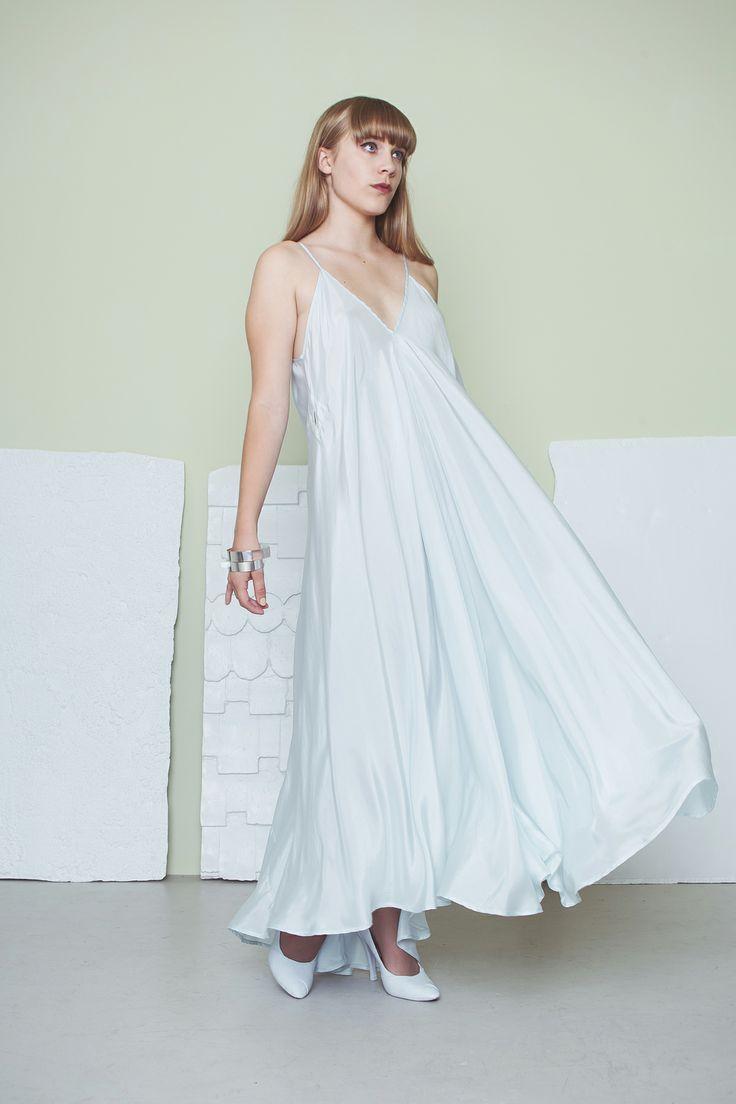Julee Cruise Dress - Ice Blue