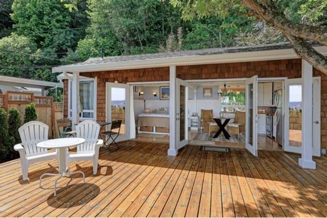 Visite con nosotros esta increíble casa diminuta en la playa
