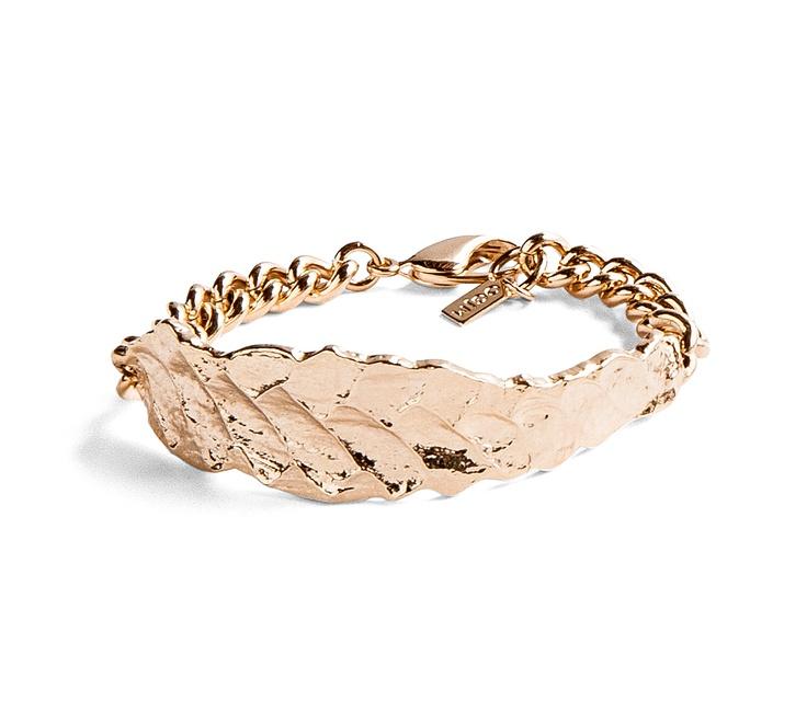 Orly Genger by Jaclyn Mayer gold bracelet