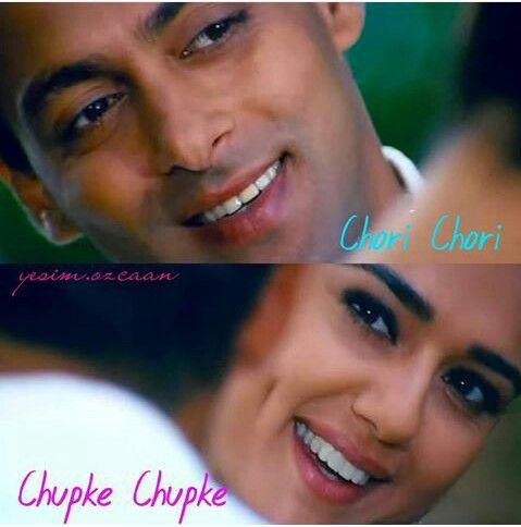 Salman Khan Preity Zinta Chori Chori Chupke Chupke
