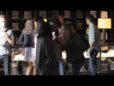 Abercrombie & Fitch Paris Store - Opening Day Video - Retail Customer Experience the Paris Way :-)