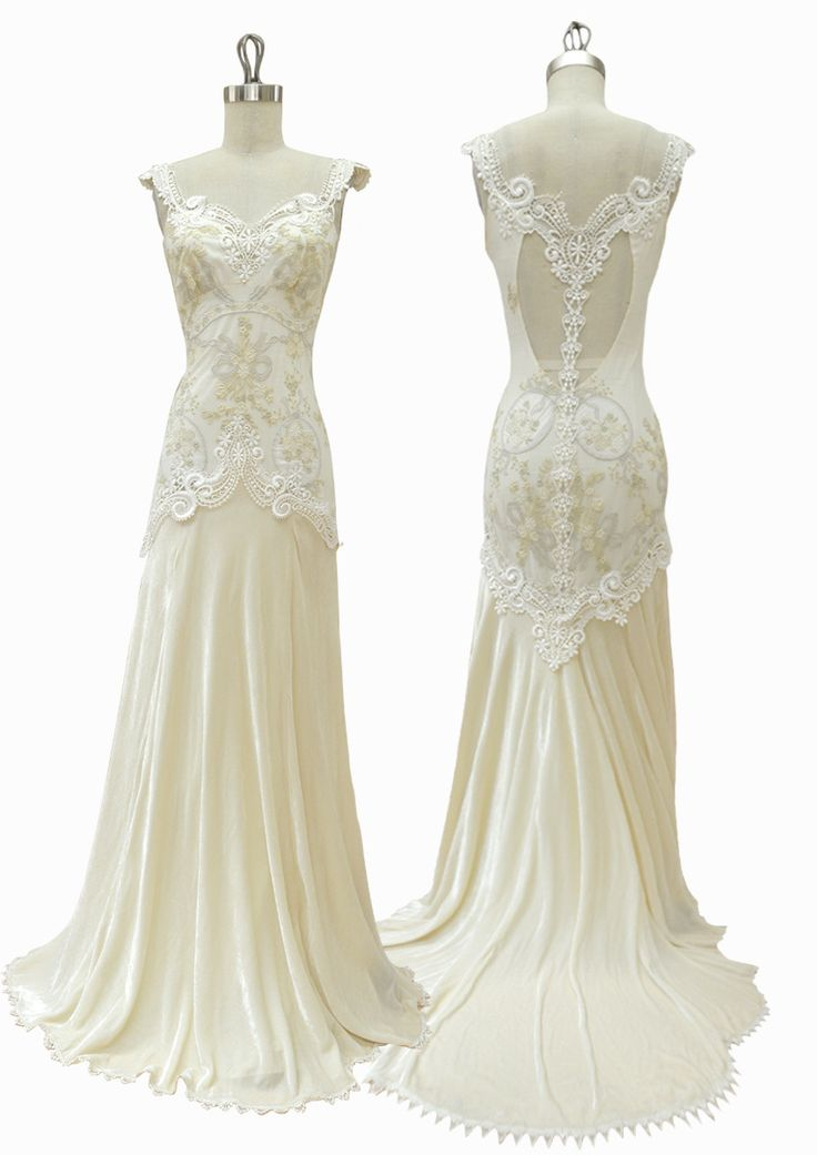 Thalia Couture Wedding Dress By Claire Pettibone SAMPLE SALE Available For Purchase Online