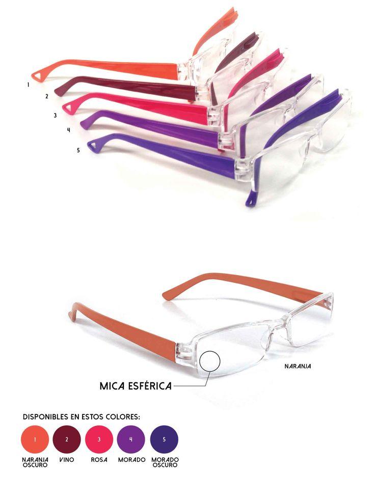 Para proteger tu vista con una variedad de colores. Lentes con Mica Esferica www.diquesi.com.mx