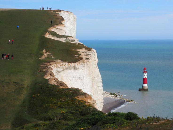 https://flic.kr/p/ABt5pb | Coastal Environments - Beachy Head and the Lighthouse, England, United Kingdom