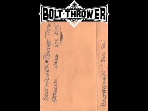 BOLT THROWER - Rehearsal ◾ (demo 1986, UK death metal)