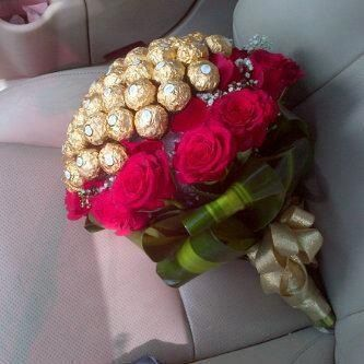 Ferrero Roche Rose Bouquet