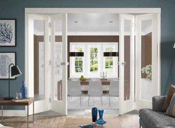 Les 25 meilleures id es concernant portes de placard - Porte pliante vitree interieur ...