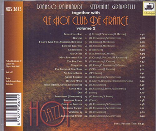 Hot Jazz: Le Hot Club de France, Vol. 2