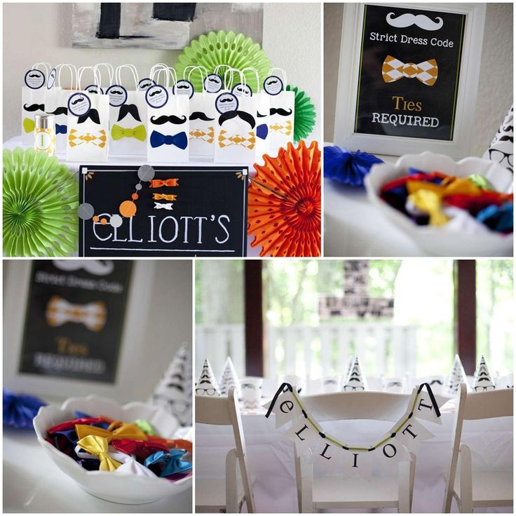 9 best Bow Tie Party Ideas images on Pinterest