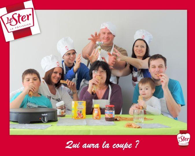 La coupe du défi Fans de Crêpes Le Ster Le Pâtissier est au coeur de toutes les convoitises !