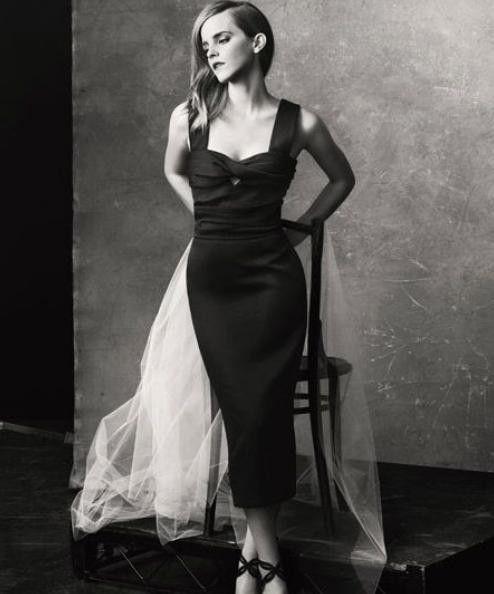 Emma Watson Models Eco-Friendly Clothes for 'The Edit' Magazine Green Carpet Challenge [PHOTOS] - Entertainment & Stars