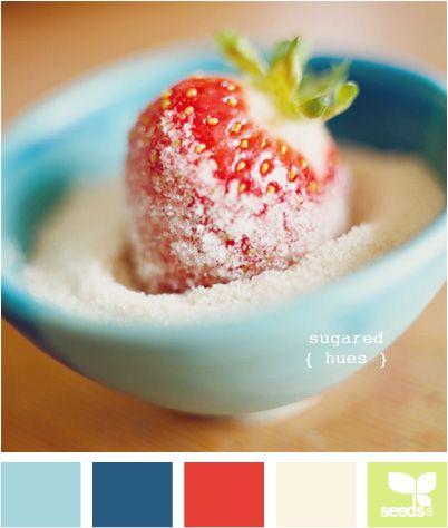 sugared hues Kitchen colors
