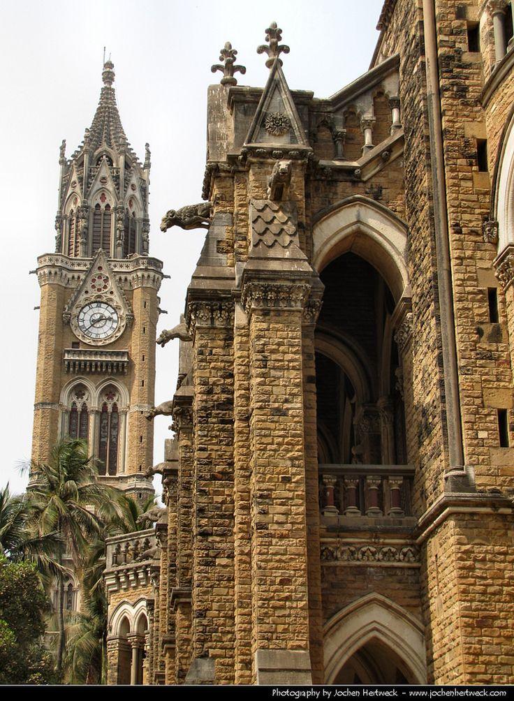 Rajabai Clock Tower & University of Bombay, Bombay, India