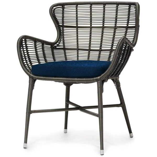 Lacey Modern Classic Espresso Outdoor Chair (8.885 NOK) ❤ liked on Polyvore featuring home, outdoors, patio furniture, outdoor chairs, contemporary wingback chair, contemporary outdoor furniture, outdoor furniture and all weather outdoor patio furniture