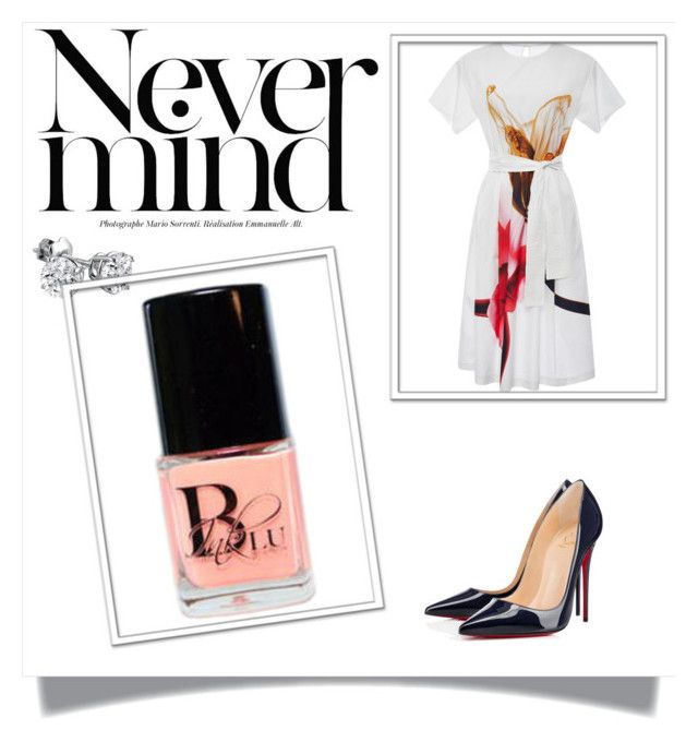 Peach Bellini!!!! by bluinknailacquer on Polyvore featuring beauty, Amanda Rose Collection, Clover Canyon and Christian Louboutin.  Shop Blu Ink Nail Lacquers Fun & Flirty Collection. www.bluinknailacquer.com.  #bluinknailacquer #bluinkbaby #snobcollection#teambluinknailacquer  #allthebeatcolors#somanycolors dontgetleftout #getyoursnow #thebestbrand   #girlbossofbluinknailacquer#bluinktakeover#vegan#crueltyfree #ifublinkumightmisssomething#9free#ecoconcious#lesstoxic#peachbellini