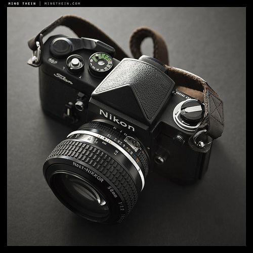 OMFreakinGod. Nikon F2 Black Titan w/ 58/1.2 AIS Noct-Nikkor