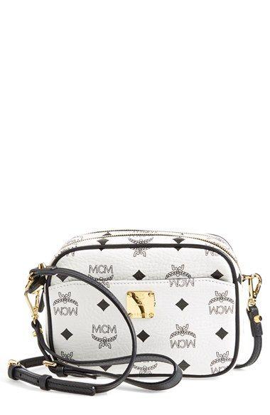 MCM Handbags 'Color Visetos' Crossbody Bag