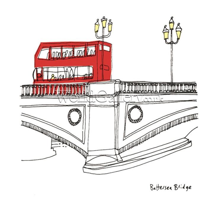 London - Battersea Bridge