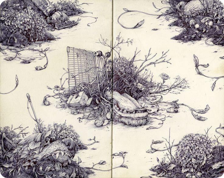 July 2015 Sketchbook - Blog - Pat Perry