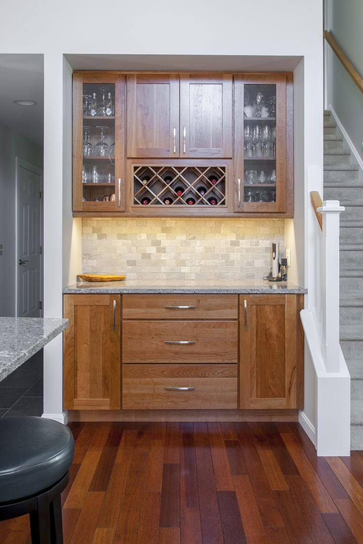11 best Kitchen remodel - Shaker Natural Cherry images on ...