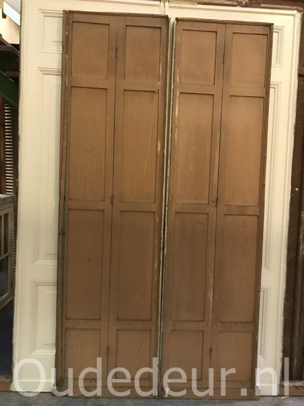 nr. e96 set schuifdeuren of smalle klapdeuren