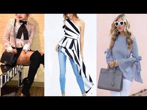6f1732e5a0 Ultimas Tendencias En Blusas Y Blusones 2019 Fashion Blouses - YouTube