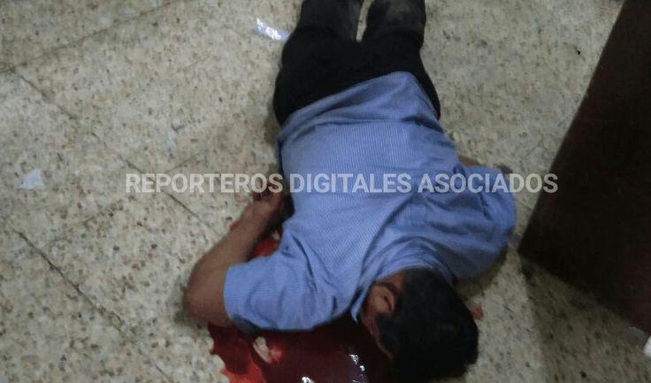 Degüellan a un hombre en el centro de Poza Rica - http://www.esnoticiaveracruz.com/deguellan-a-un-hombre-en-el-centro-de-poza-rica/