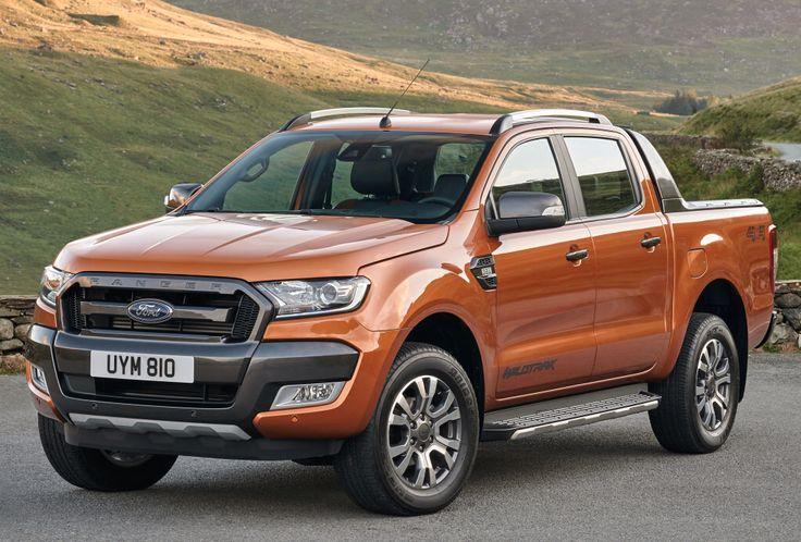 Ford Ranger Wildtrak (2015).