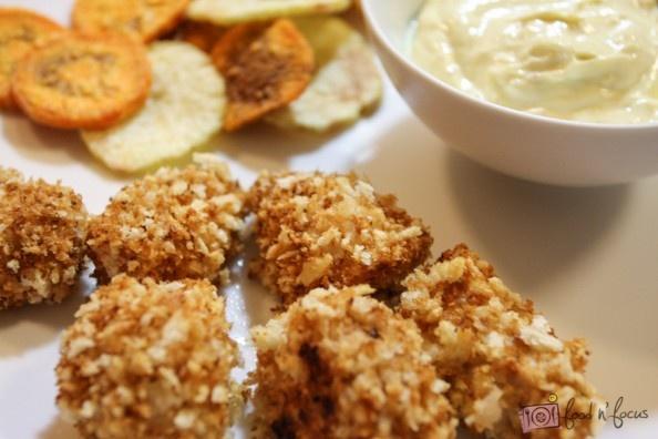 Crispy Chicken Nuggets & Chips