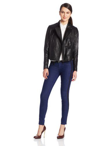 French Connection Women's Quilted Lea... $130.56
