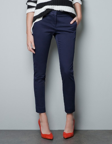 ZARA Trousers with Side Piping - wear to work?