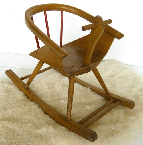 VG268   50s Rocking Chair Eames Era