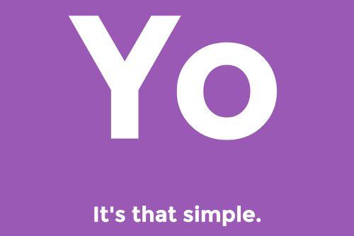 """Kennen Sie die App Yo? Sieben Vorschläge, wie Sie das kleine Wörtchen """"Yo"""" in den Berufsalltag einbinden können:   http://karrierebibel.de/yo-7-tipps-wie-sich-die-gaga-app-im-buero-nutzen-laesst/"""
