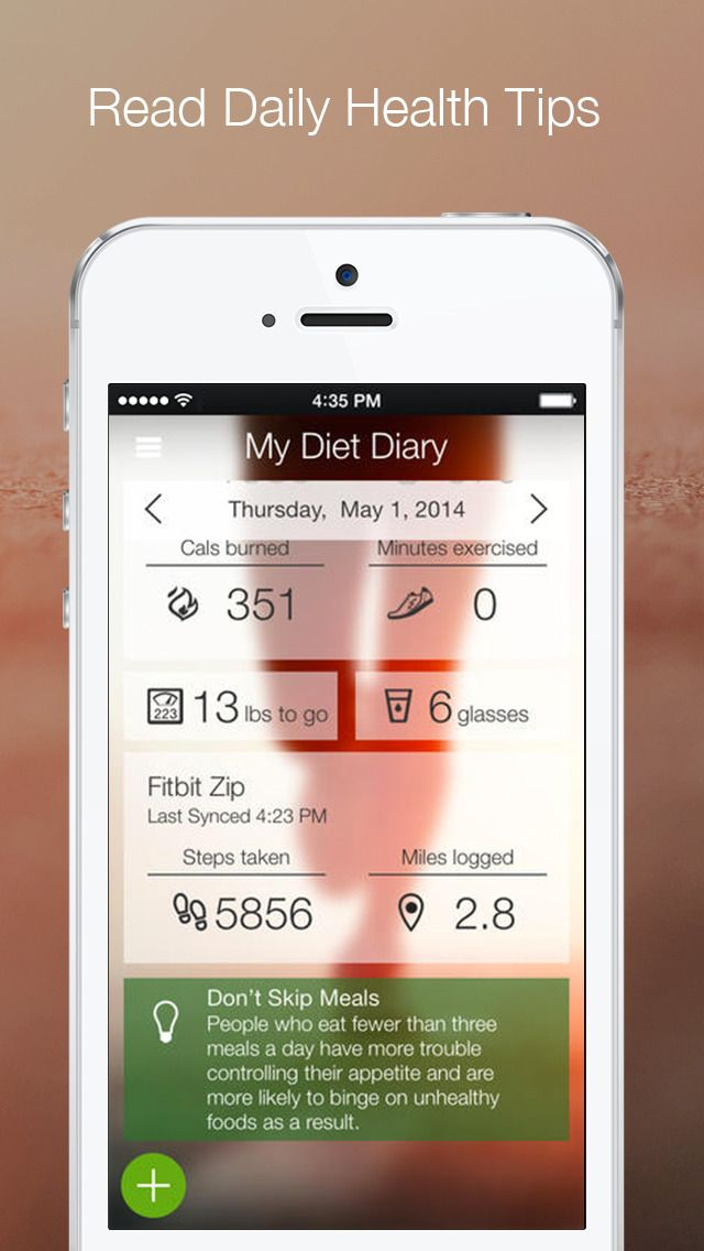 My Diet Diary -- Your Personal Calorie Counter, Weight Log ...