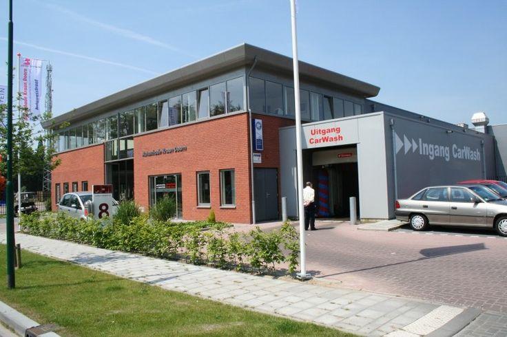 Nieuwbouw kantoor met bedrijfshal