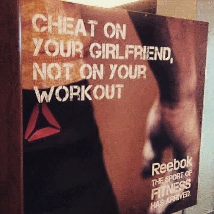 We just can't with this #Reebok poster...  #stopfitspiration