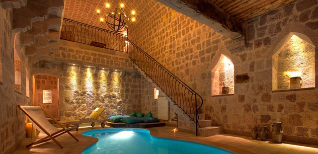 Argos In Cappadocia, Turkey | Tablet Hotels - a cave hotel where some of the rooms have 'in-cave' pools!