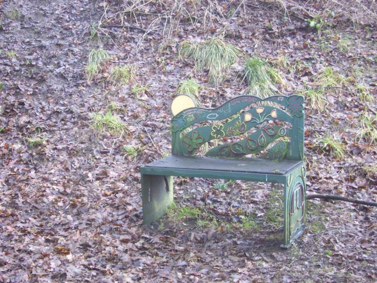 Cute chair at Standedge Tunnel