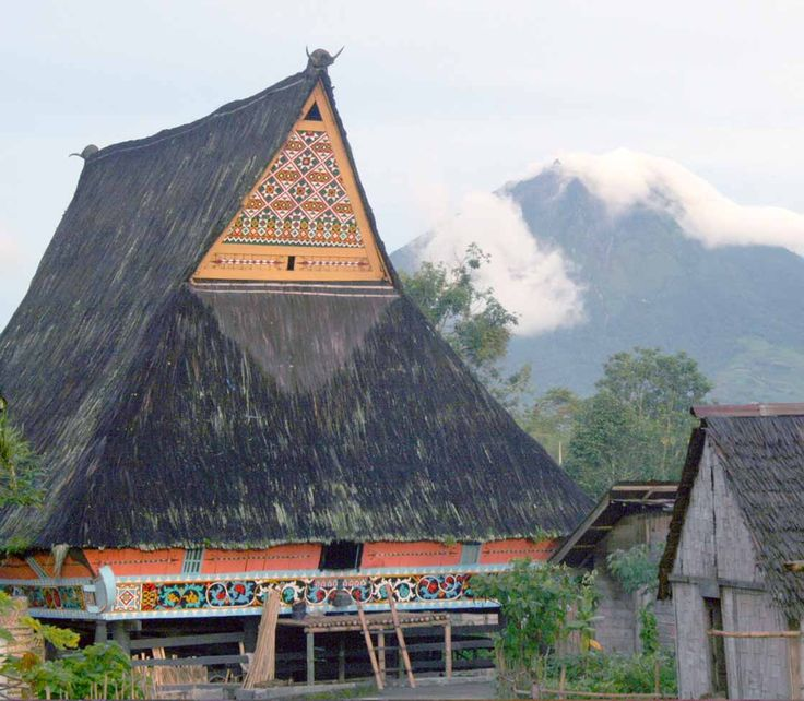 Traditional house of Karo - North Sumatra