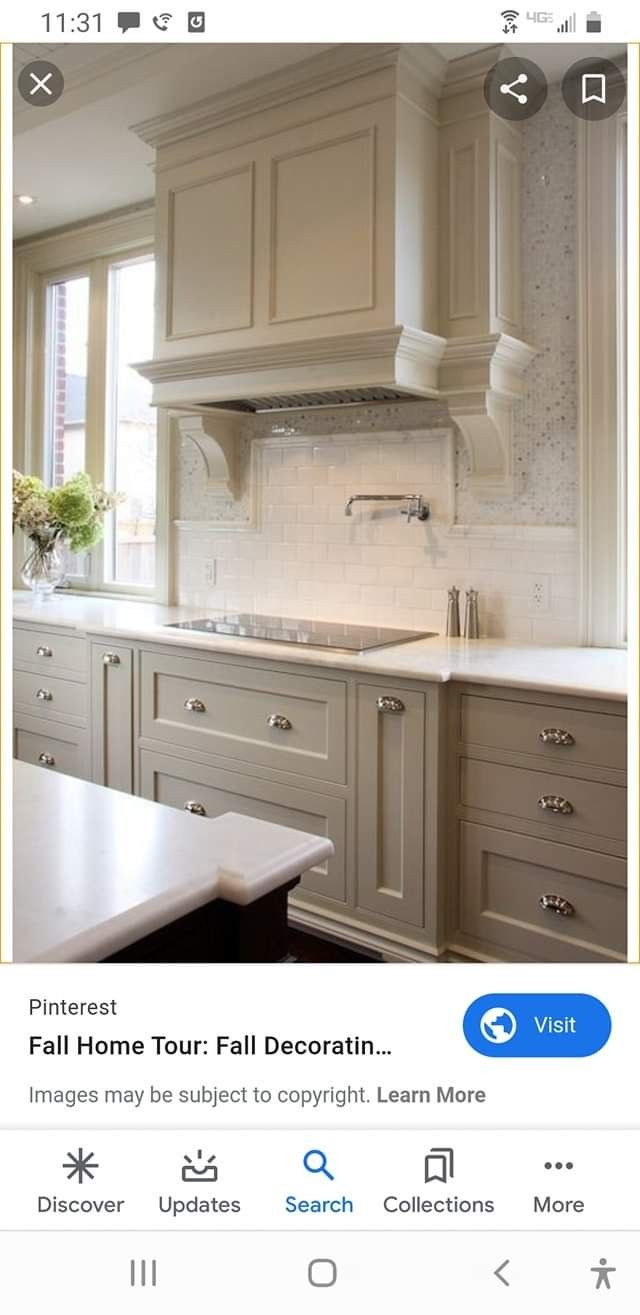 Possibly Close To The Heirloom Traditions Paint Color Oyster Or Tan In 2020 Traditional Kitchen Cabinets Kitchen Design Kitchen Remodel