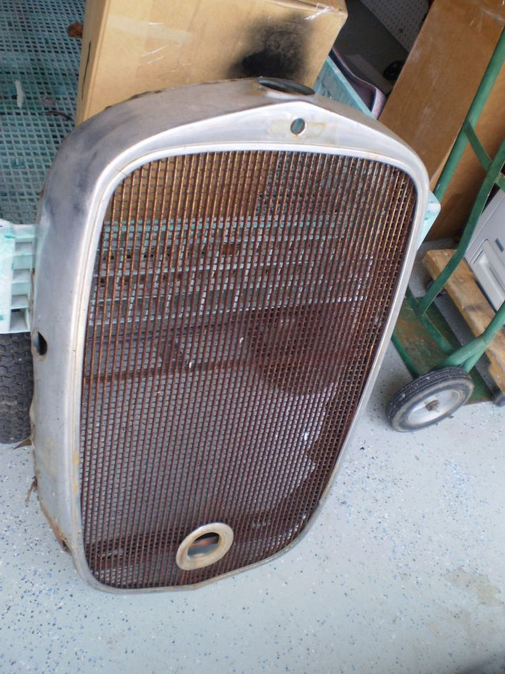 Rare Original 1932 Chevy Radiator Grill Shell 32 Chevy Rat