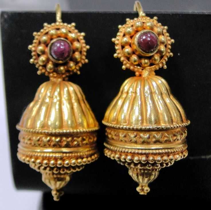 Vintage Solid 22k Gold Ruby Gemstone Necklace Earring: 17 Best Images About Ethnic Jewelry On Pinterest