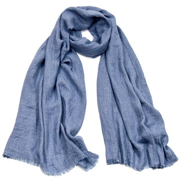 Foulard chèche bleu homme premium - Hommes/Chèche homme - Mes Echarpes