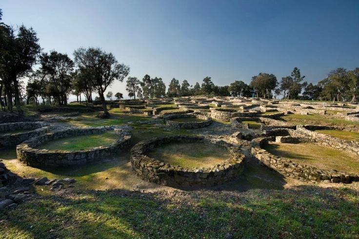 Cividade de Terroso (Terroso Celtic Hill Fort) - Póvoa de Varzim, North Portugal.
